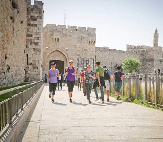 במרחק ריצה - סיור ריצה בירושלים