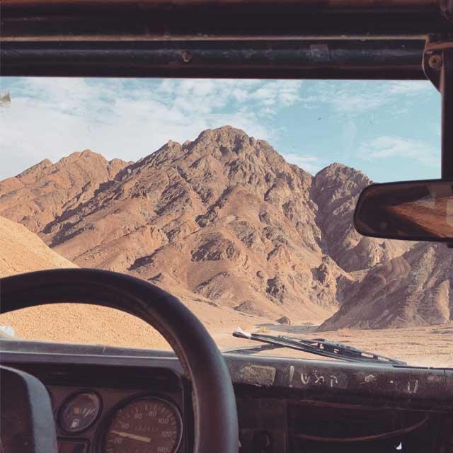 טיול ג'יפים בפסגות היפות בהרי אילת