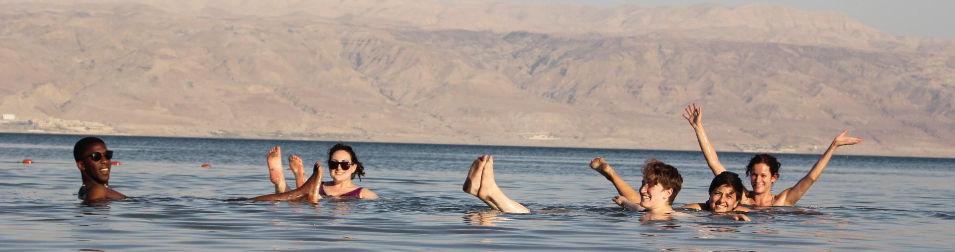Float in the Dead Sea tour from jerusalem