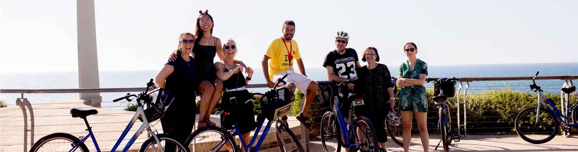 bike tour through the real Tel Aviv