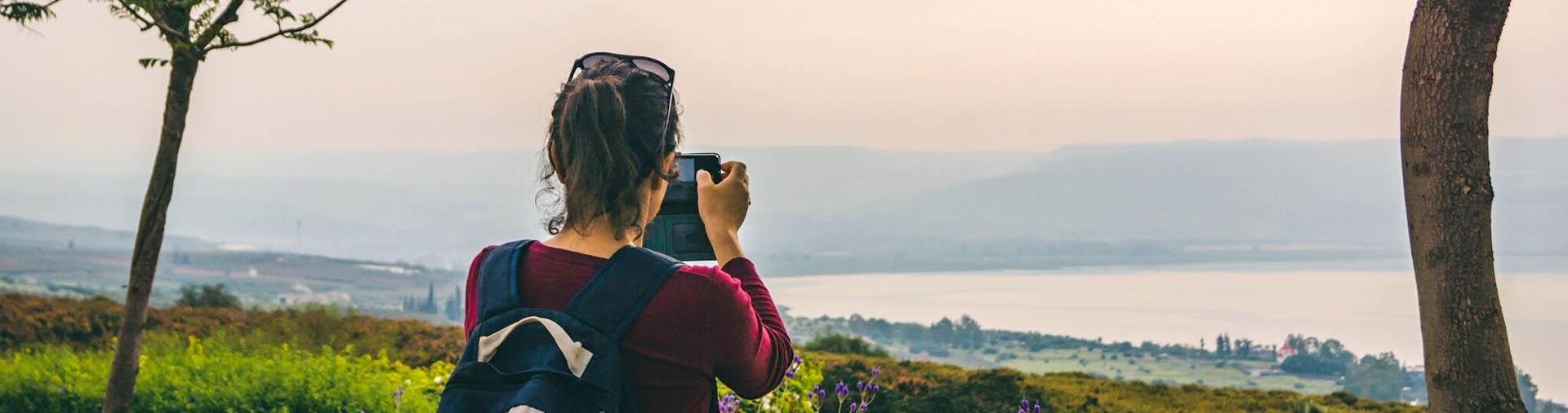Sea of Galilee view