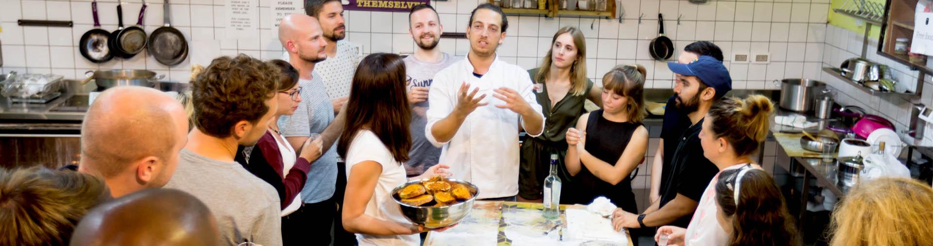 cooking workshop tel aviv