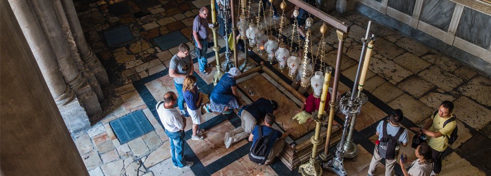 pray at the Holy Sepulchre